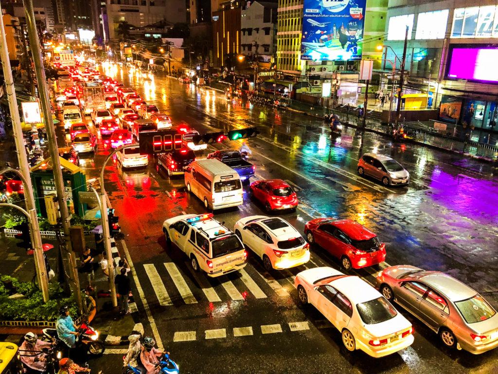 バンコクの夜。