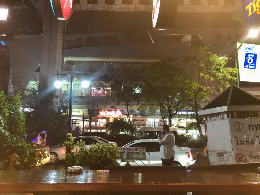 バンコク最後の夜