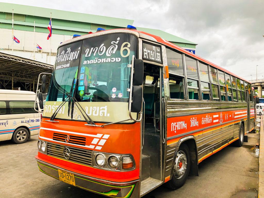 ワット・パイロンウア行きのバス